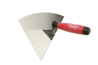 BRICK TROWELS(RIGHT HAND/ HIGH CARBON STEEL & PLASTIC HANDLE)