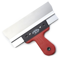 TAPING KNIFE(RIGHT ANGLE - STAINLESS STEEL BLADE/ PLASTIC HANDLE)