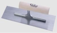 抹泥刀(圆木柄/镜面不锈钢刀片)