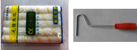 Cens.com THUMB PAINT ROLLER (ROLLER & HANDLE CAN BE SOLD SEPERATELY)  CIVORD INDUSTRIAL CORP.