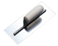 REVITED PLASTERING TROWELS WOOD HANDLE