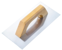 PLASTERING TROWELS WOOD HANDLE