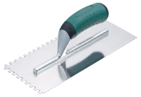 NOTCHED TROWELS ERGONOMIC HANDLE