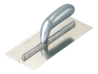 NOTCHED TROWELS PLASTIC HANDLE