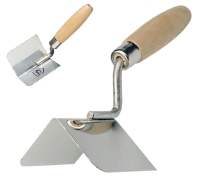 CORNER TROWELS WOOD HANDLE