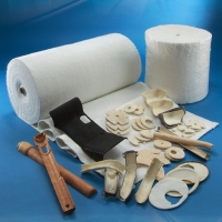 Heat Pressing Preformed Parts of Glass Fiber