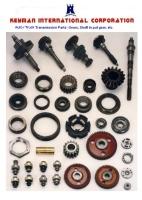 Auto/Motocycle  Power Train Spare Parts
