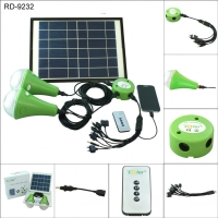 Solar LED Home Lighting System