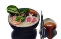 鬼芋荞麦拉面(综合海鲜)