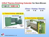 3-Roll Thermo-finishing Calender for Non-Woven