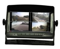 7 Car Rear-View  LCD QUAD Monitor