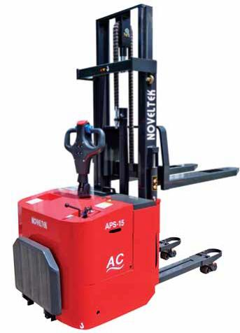 ADVANCED POWERED PALLET STACKER(AC+EPS)(1.5Tons/1.8Tons/2Tons)