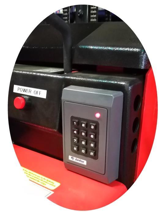 电动堆高机+密码锁