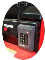 Electric Forklift+Keypad Lock