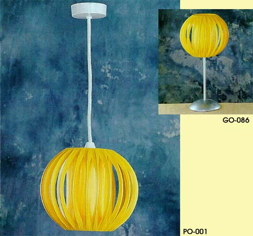 Table & Pendent Lamp