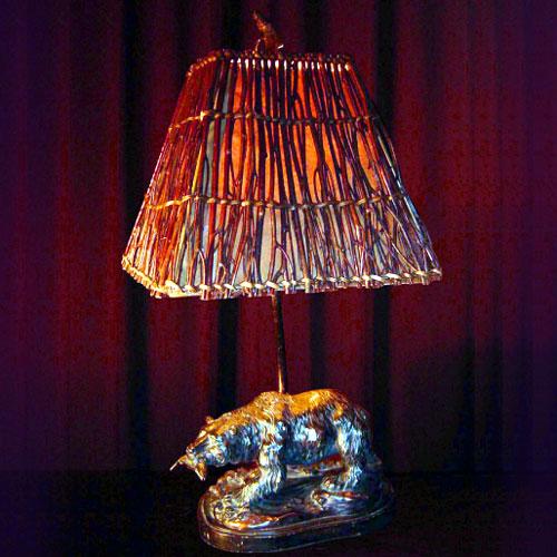 BRON BEAR TABLE LAMP