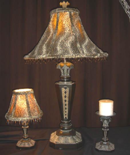 BARBIZON TABLE LAMP / MINI LAMP / CANDLE HOLDER