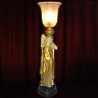 LADY ART NOUVEAU BUFFET LAMP