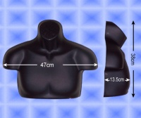 Free-Hanging Men's Chest Form