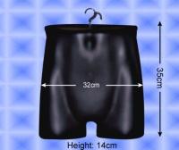 Free-Hanging Men's Hip Form
