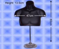 Free-Hanging Men's Chest Form With Stand