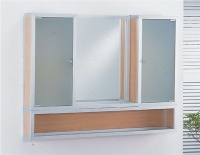 W-0034A   cabinet AU-2862-1  L-Type mirrors W-0036A   cabinet
