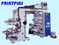 HIGH SPEED 2 COLORS FLEXOGRAPHIC PRINTING MACHINE