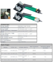 Pneumatic Tensioner Tool/ Pneumatic Tensioners for steel Strap with Seals