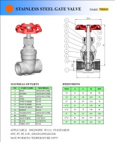 Cens.com Stainless Steel Gate Valve YANG FA MEN INDUSTRIAL CO., LTD.
