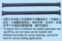 Cens.com Car roof racks YU GER PLASTIC ENTERPRISE CO., LTD.