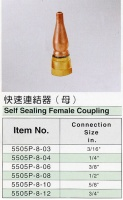 Self Sealing Female Coupling