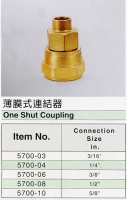 One Shut Coupling