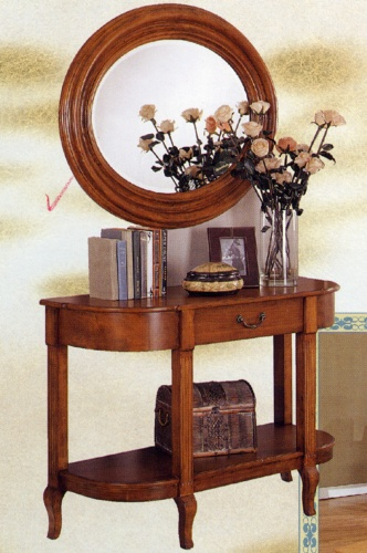 Console Tables and Mirrors
