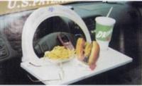 Multifunction steering-wheel cover table