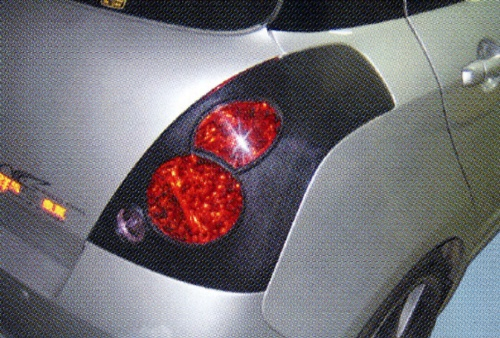 Tail Lamp Frame, ABS