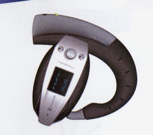 Bluetooth OLED headset