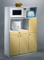 Shelve and cabinet