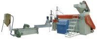 PP, LDPE, HDPE, DEGASIFICATION TYPE TWO-SECTION TO FILTER GRANULE-MAKING MACHINE OF PELLETIZER TYPE