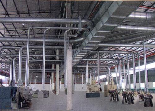 HD集尘设备室内工程实例