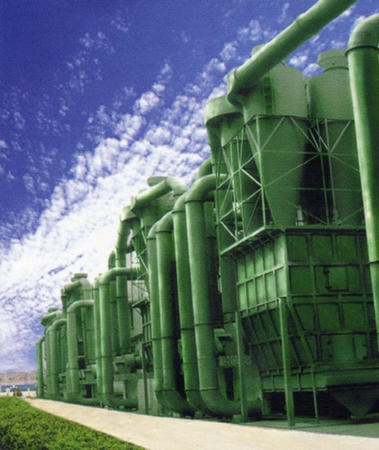HD旋風集塵設備工程實例