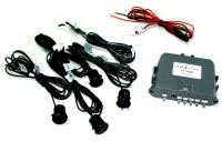 Reversing distance sensor and camera