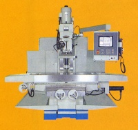 CNC BED TYPE VERTICAL MILLING MACHINE