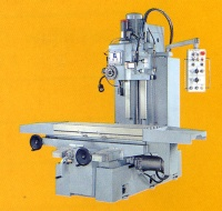 BED TYPE VERTICAL & HORIZONTAL MILLING MACHINE