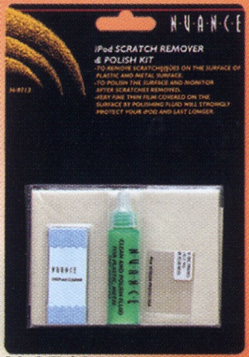 Cleaning / Protector film kit for iPod