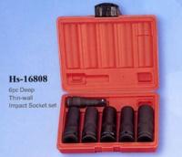 6pc Deep Thin-wall Impact Socket set