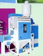 Chip specific blast machine