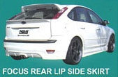 FOCUS REAR LIP SIDE SKIRT