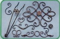 Decorative Metal Leaves