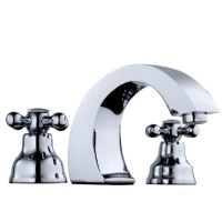 Wide Sread Basin Faucet