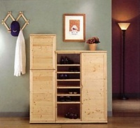 Wood / Wooden Shoe / Slipper Racks, Cabinets
